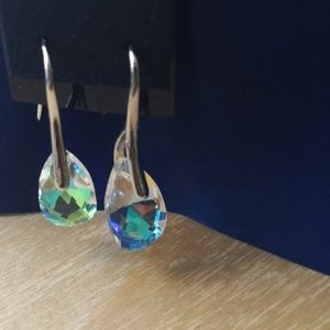 Earrings.With Swarovski elements.